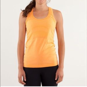 Lululemon Run Swiftly Tech Racerback Creamsicle